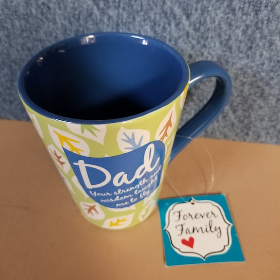 Dad Mug for coffee, tea or hot chocolate café style great gift for Father