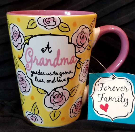Grandma Mug Forever Family  for coffee, tea or hot chocolate