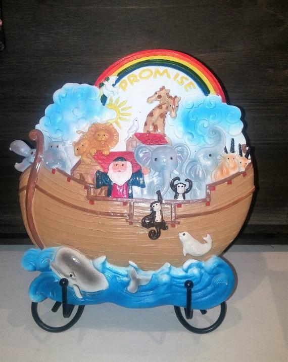 Noah's Ark childrens wall plaque