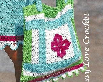 141b0b227da47 Crochet Summer Beach Bag Pattern