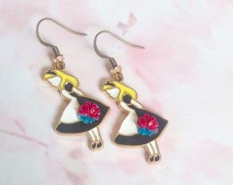 Alice dress earrings