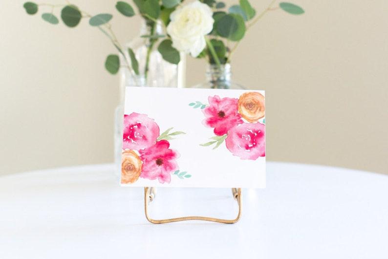 Pink Roses Card image 0