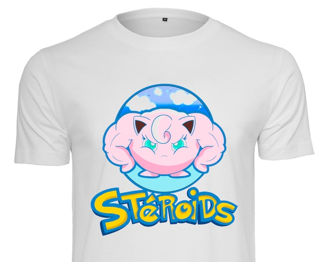 Rondoudou Steroids - Dude T-shirt - By Coyote