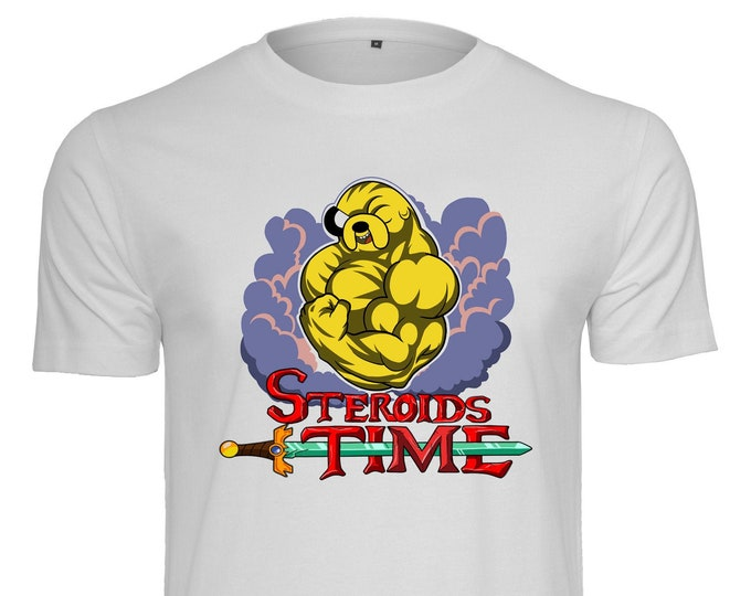 Steroids Time - By Coyote - Dude T-shirt