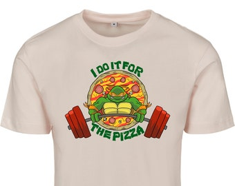 I do it for the PIZZA - By Coyote - Dude t-shirt -