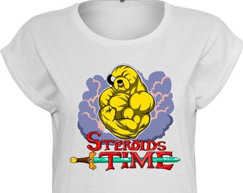 Steroids Time - By Coyote - Lady T-shirt
