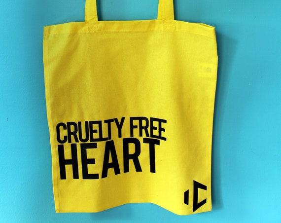 Cruelty Free Heart totebag