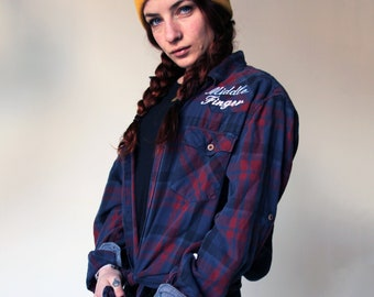 Checked Shirt - Vintage - Feminist - Not your SweetHeart