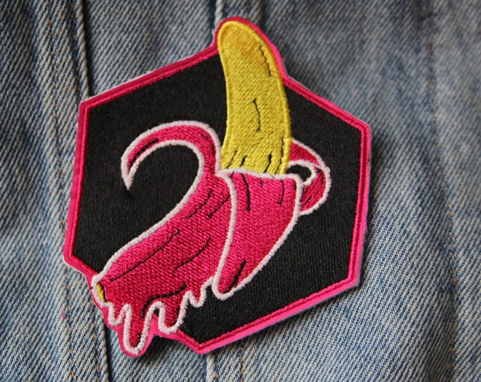 Melting Pink Banana - Patch