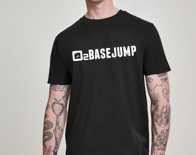 Black T-shirt - Basejump - Men