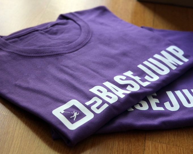 David Laffargue - BaseJump - Purple Man t-shirt