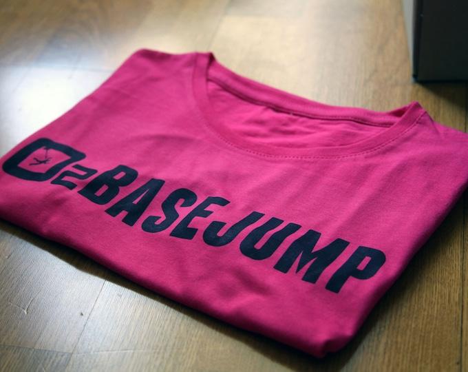 David Laffargue - BaseJump - Fushia woman t-shirt