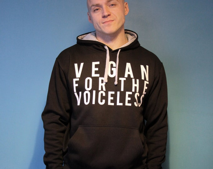 Vegan for the voiceless Hoodie