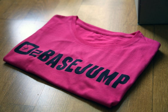David Laffargue - BaseJump - Fushia woman t-shirt