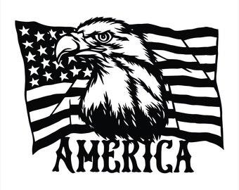 Three Percent Eagle 1776 Liberty Death Crest American sticker decal militia