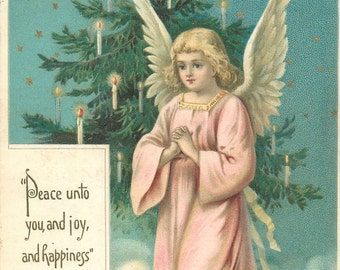 Praying Angel, Christmas Angel, Praying Angel Christmas Card, Praying Christmas Angel, Angel Christmas, Card Angel, Card Christmas, Angel