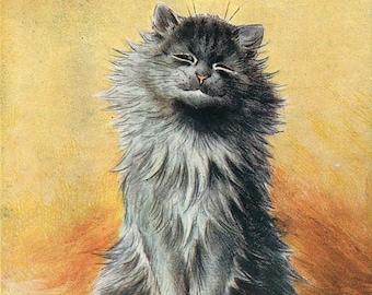 First Prize, Cat Show, First Cat Show, First Show, Cat Prize, First Cat, Prize Cat, Show First, Show Prize, Louis Wain, Louis Wain Cats, Art