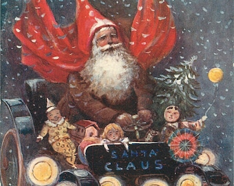 Santa Claus, Santa Claus Card, Christmas Santa Claus, Santa Card, Christmas Santa, Santa Claus Christmas, Santa Christmas, Raphael Tuck Card