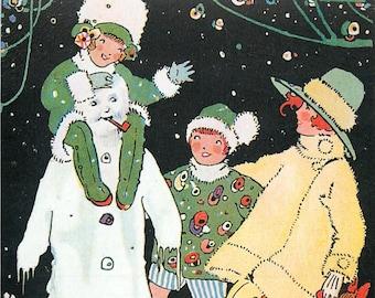 Happy Land, Phyllis Cooper, Happy Cooper, Land Happy, Cooper Card, Phyllis Card, Card Christmas, Art Cooper, Christmas Art, Art Christmas