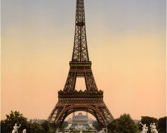 Eiffel Tower, Giclee Print, Paris Decor, Art Print, French Decor, Paris Prints, Paris Art, Paris France, French Art, French Prints, Landmark