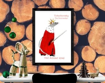 Nutcracker Drawing, Mouse King Nutcracker, Nutcracker Mouse King, Mouse Drawing, King Drawing, Mouse Nutcracker, Nutcracker Mouse, Mouse Art