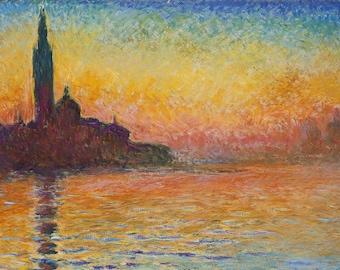 San Giorgio, San Giorgio Maggiore, San Giorgio Maggiore Monet, Giorgio Maggiore, Monet San Giorgio Maggiore, San Giorgio Monet, San Maggiore