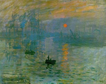 Impression Sunrise, Monet Impression Sunrise, Monet Sunrise, Monet Impression, Impression Sunrise Monet, Sunrise Impression, Sunrise Monet
