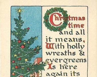 Merry Christmas, Vintage Merry Christmas, Merry Christmas Vintage, Vintage Christmas, Greeting Merry Christmas, Christmas Merry, Tuck Cards