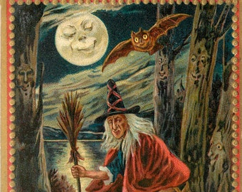 Haunted Forest, Forest Witch, Halloween Haunted Forest, Haunted Forest Halloween, Witch Forest, Halloween Witch, Halloween Forest, Tuck
