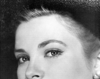 Grace Kelly, Old Hollywood, Giclee Print, Hollywood, Celebrities, Hollywood Glamour, Hollywood Regency, Fine Art Print, Home Theater Art
