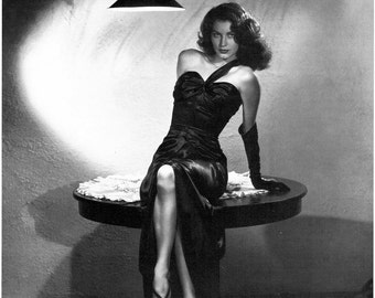 Ava Gardner, Giclee Print, Publicity Photo, The Killers, Hollywood, Celebrities, Old Hollywood, Hollywood Regency, Hollywood Glamour, Giclee