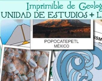 Unidad didáctica de GEOLOGÍA - español -