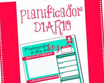 PLANIFICADOR DIARIO 201X