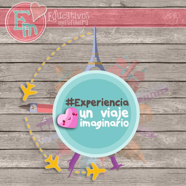 KIT Experiencia viajera imaginaria  español  image 0