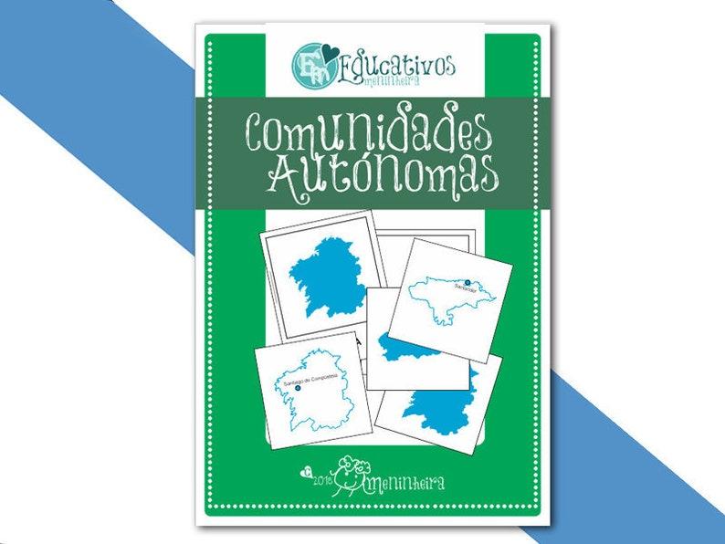 Tarjetas COMUNIDADES AUTÓNOMAS  galego image 0