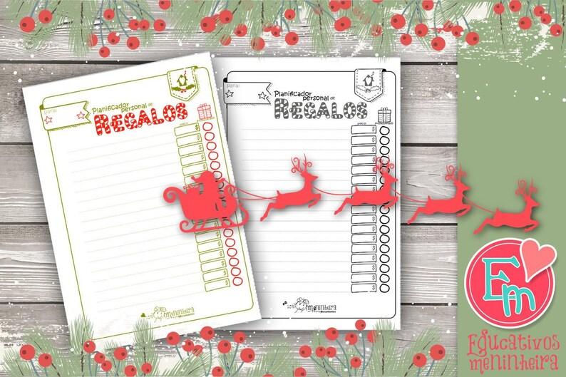 Planificador de regalos navideño image 0