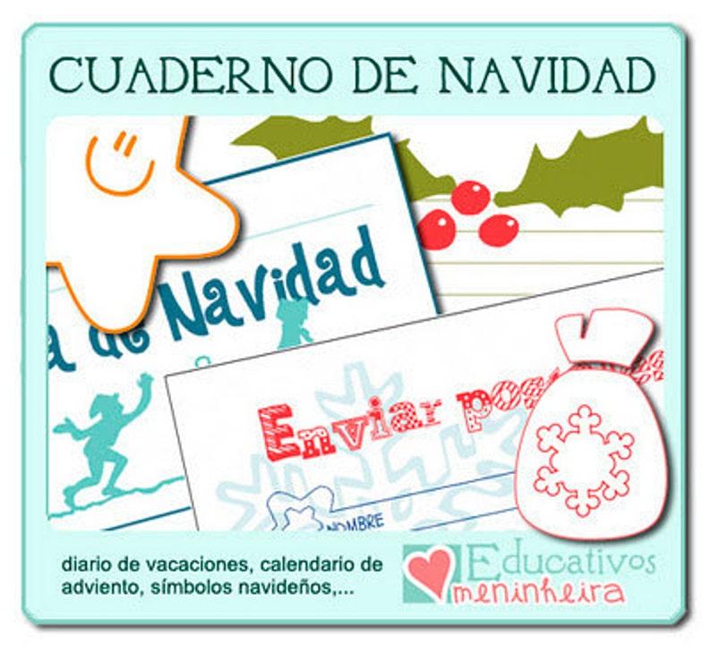 Cuaderno de Navidad para niños español image 0