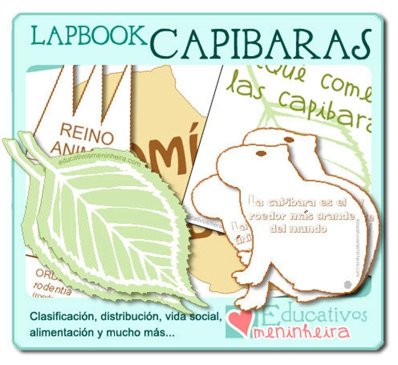 Lapbook sobre las capibaras español image 0