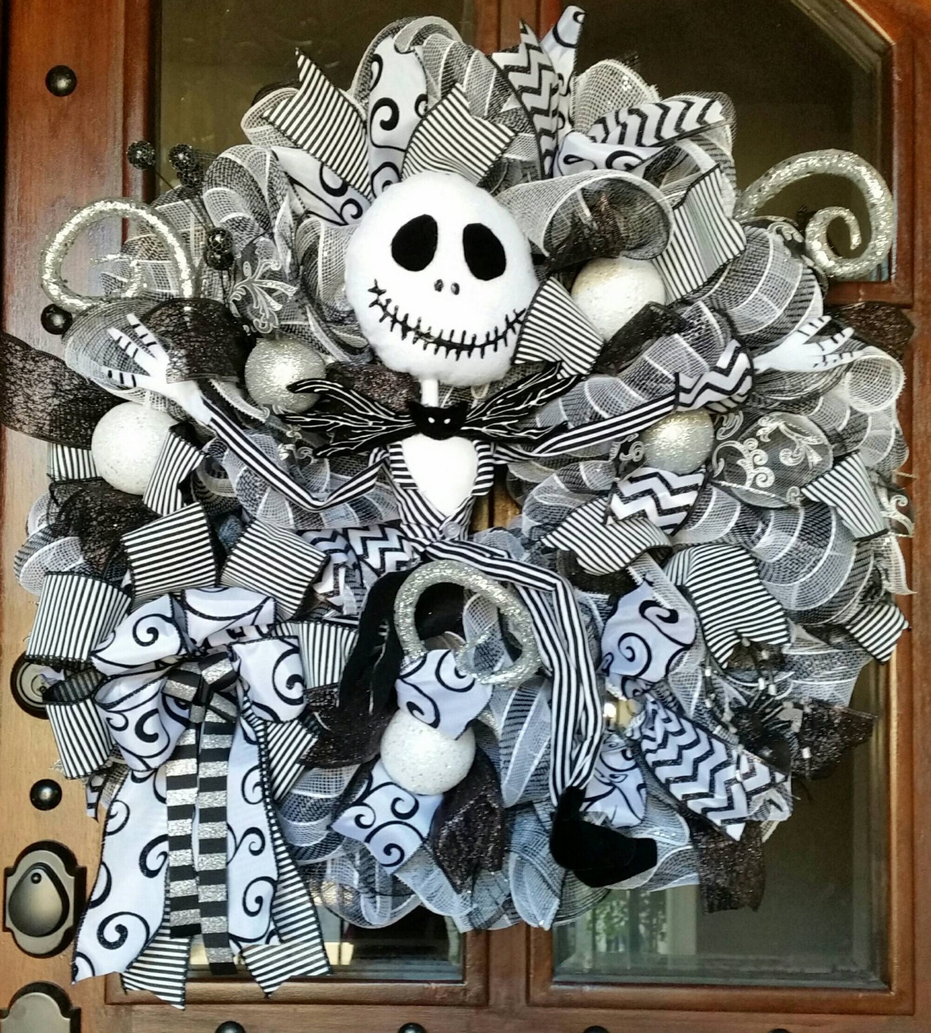 Nightmare Before Christmas Gifts Uk: Jack Skellington Wreath Nightmare Before Christmas Wreath