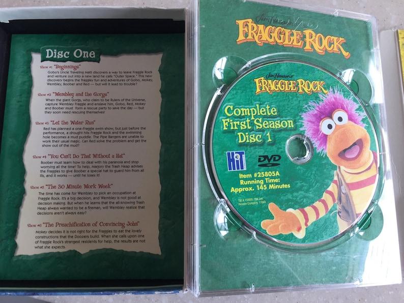 Fraggle Rock DVD Box Set - Complete Season 1