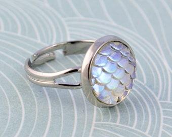 Glass + Resin Rings