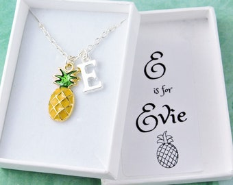 Popular Women Pineapple Necklace Everyday Fruit Pendant Necklaces Party Gift New
