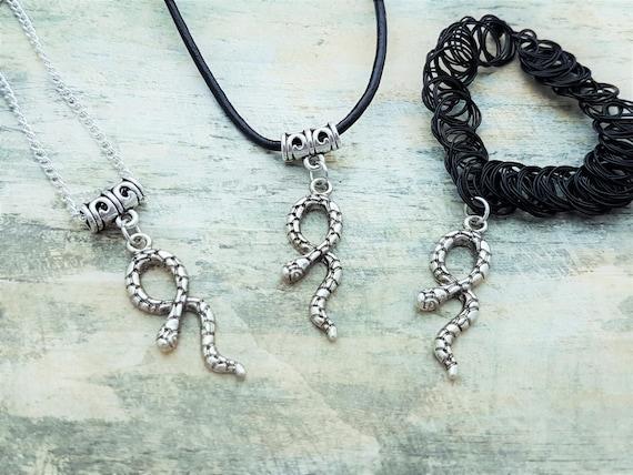 serpent ras de cou collier serpent reptile bijoux charme etsy. Black Bedroom Furniture Sets. Home Design Ideas