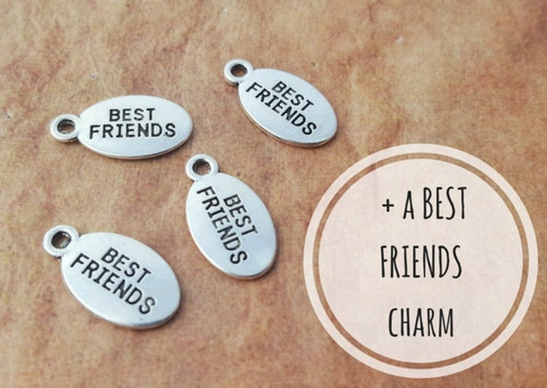 Add A Best Friends Charm Purchase Add On Necklace Add On image 0