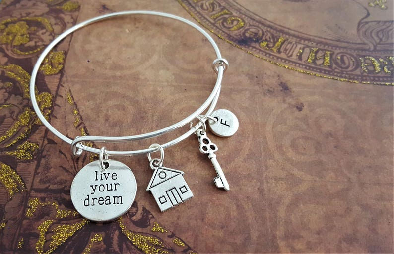 House Charm Bangle New Home Jewellery Cute Gift For Someone image 0