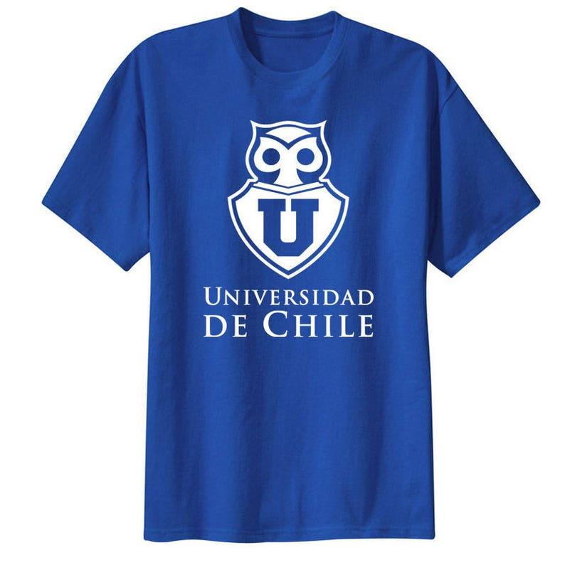 9f00016a7fc Club Universidad de Chile T Shirt Camiseta Fanatico La U   Etsy