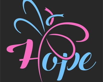 Hope - Pregnancy and Infant Loss Sticker
