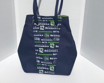 Seattle Seahawk's Large Tote/Purse
