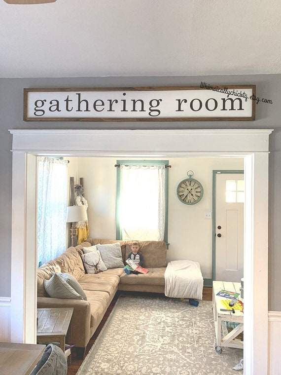GATHERING ROOM With willow tree Great for above a double door