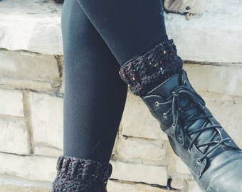 Tweed Ankle Boot Cuffs
